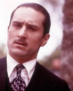 Robert De Niro Robert De Niro as Vito Corleone in The ...