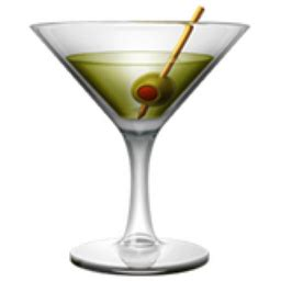 drink emoji cocktail glass emoji u 1f378