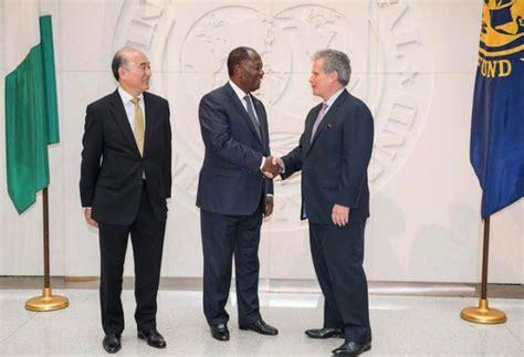 siege fmi visite du président de la république au siège du fmi