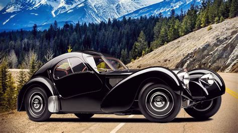 Bugatti has just begun construction of its new type 57 the end result was the aerolithe concept, a show car whose curves would spawn four coachbuilt type 57 scs—renamed the atlantic coupes. Bugatti Type 57SC Atlantic Wallpapers | Supercars.net