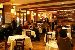 Dining at Serafina on Broadway