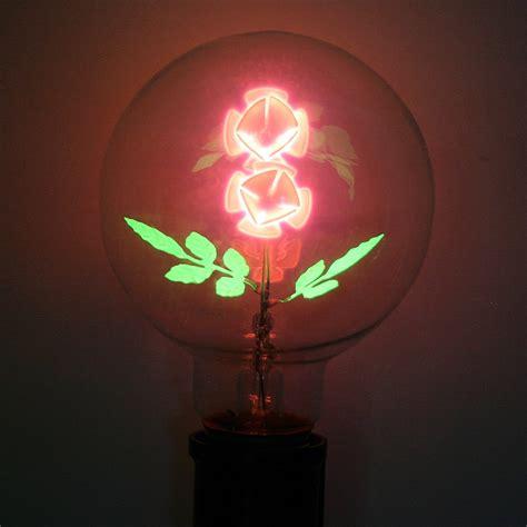 flowers in light bulbs damar 47071 quot flower rose quot g25 medium base 05620a