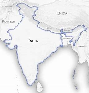 File:India and Neighbouring Countries Map (official ...