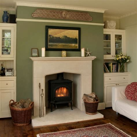 country fireplace country tudor stone surround pinckney green fireplaces