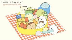Sumikko Gurashi Bento Picnic Wallpaper - Cute · Kawaii ...
