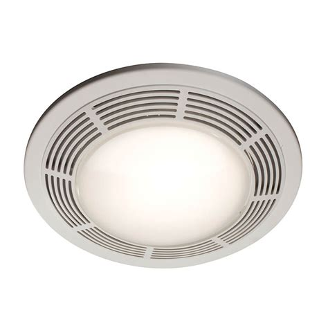 nutone bath fan parts shop nutone 3 5 sone 100 cfm polymeric white bathroom fan