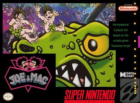 Joe And Mac Snes Super Nintendo