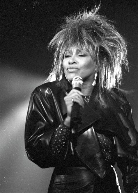 After separating from ike in … Tina Turner Performs On A Tv Show Photograph by Michael ...