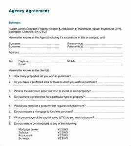 10+ Agency Agreement Templates – Free Samples, Examples ...