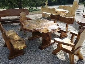 Rustikale Tische Aus Holz : rustikale einzigartige sitzgarnituren aus massivholz tische ungarn suchergebnisse ~ Indierocktalk.com Haus und Dekorationen