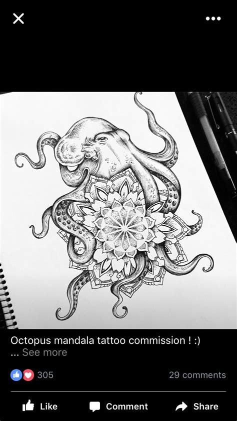 Pin by azraelle on OCTOPUS TATTOO | Octopus tattoos, Ocean tattoos, Sleeve tattoos