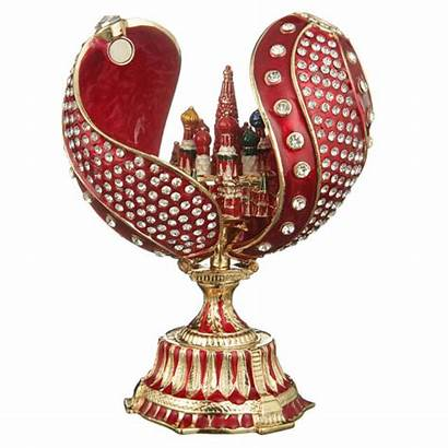 Moscow Faberge Twisted Cathedral Egg Russian Basil