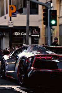 Chrome Wrapped Lamborghini Aventador