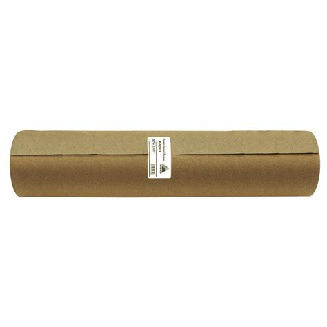 home depot builders paper easy mask 30 in x 1000 ft brown masking paper 12106 the home depot