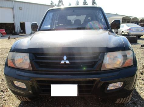 Mitsubishi Montero Parts by 2002 Mitsubishi Montero Limited Black 3 5l At 4wd 163765