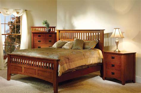 Mission Bedroom Furniture by Madrid Mission Bedroom Furniture Set Countryside Amish