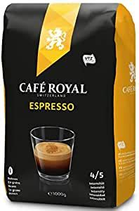 The carbon negative coffee roasted in a vintage 90 kilo roaster contributes towards nature and towards providing choice blends, like this excellent cold press elixir. Café Royal Espresso Beans, 1 kg, Roasted Coffee Beans ...