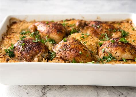 oven recipe oven baked chicken and rice no stove recipetin eats