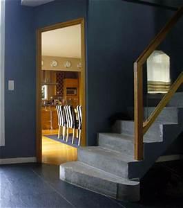 Couleur Bleu Canard Deco : peinture et couleur pour une entr e de maison accueillante ~ Melissatoandfro.com Idées de Décoration