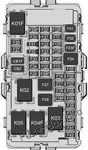 Instrument Panel Fuse Box Diagram  Chevrolet Equinox  2018