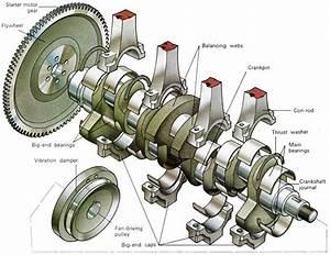 Flywheel With Crankshaft