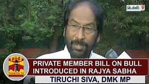 Private Member Bill on Bull introduced in Rajya Sabha ...