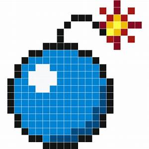 Pixel Art Bombe : bombe wall decals stickaz ~ Melissatoandfro.com Idées de Décoration