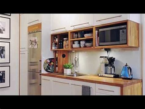 small kitchen design  small space youtube