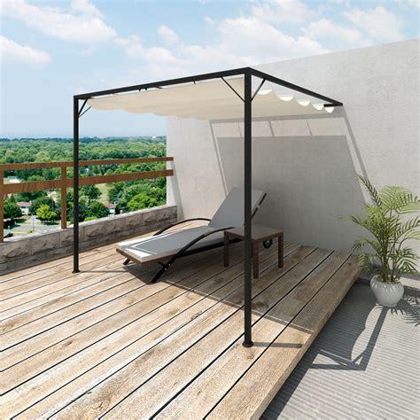 garden patio awning canopy wall gazebo waterproof