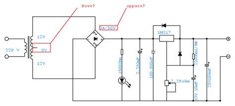 alimentatore variabile con lm317 pag 4 il forum di electroyou