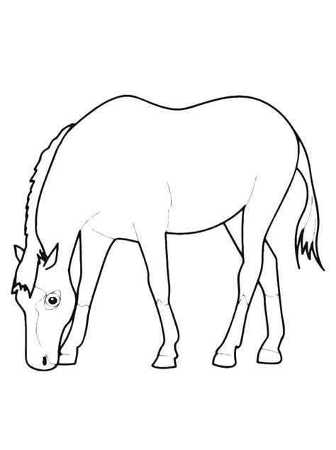 cavalli da colorare per bambini piccoli disegni astratti a matita semplici interesting with