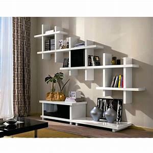 Meuble Tv Avec Etagere : meuble tv design avec porte alba ~ Teatrodelosmanantiales.com Idées de Décoration