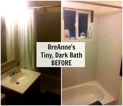 giving  small bathroom  character