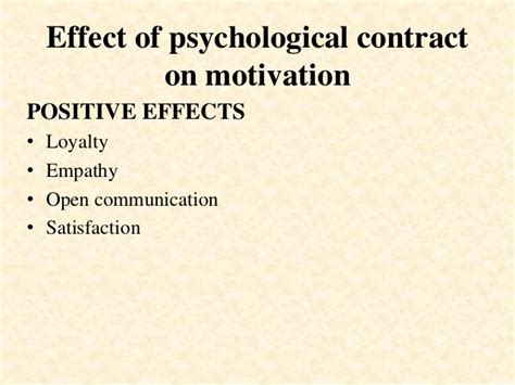 Positive And Negative Effects Of Employee Motivation