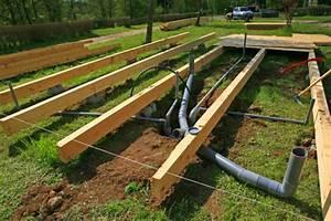 cabane en bois sans fondation With maison bois sur plots 1 fondation et dalle pour une nouvelle construction