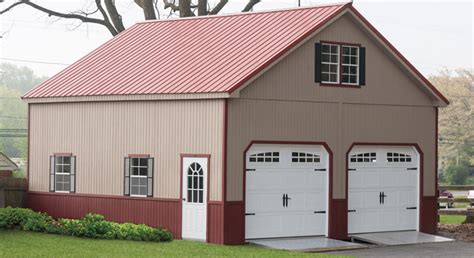 2 Story Garage Packages by Exceptional Two Story Garage Kits 10 2 Story Amish