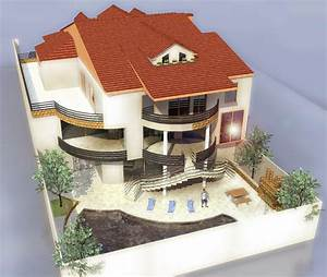 Plan Maison 3d Avec Toiture