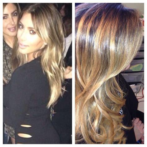 Kim Kardashian Blonde Hair 2013 Sovihair@gmail.com miami ...