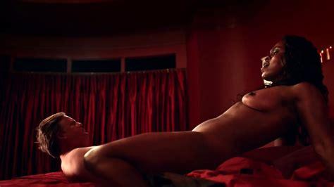 nude video celebs yetide badaki nude american gods s01e01 2017