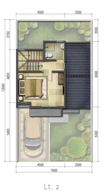 Kamar tidur ukuran 2 x 3. LINGKAR WARNA: 2 Denah rumah minimalis ukuran 7x13 meter 2 kamar tidur 2 lantai + tampak depan