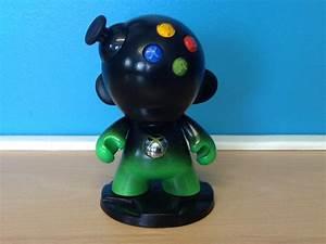 Xbox 360 Custom Vinyl Munny Toy By AcrylicAvenger On