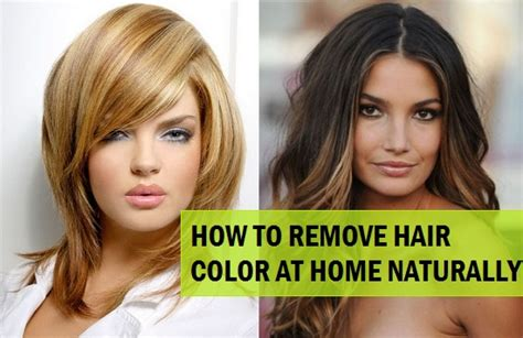 how to remove permanent hair color 5 ways to remove hair color from hair naturally at home