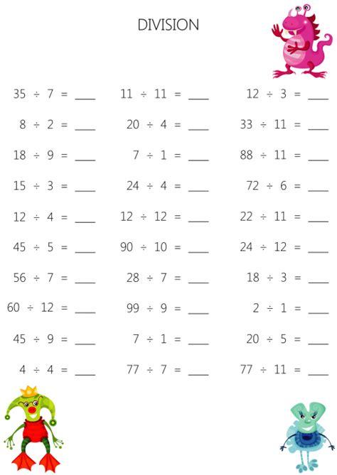 division worksheets mental math mental division worksheet 8 kidspressmagazine