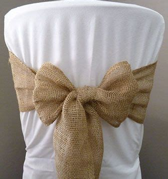 25 best ideas about burlap chair on burlap