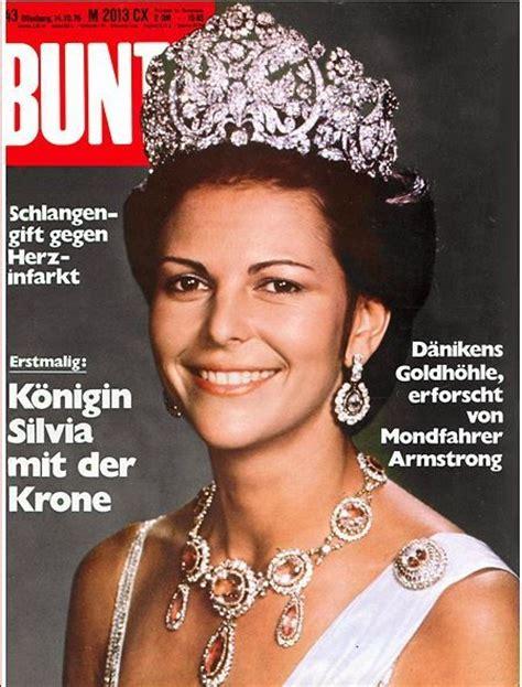 1976: Königin Silvia von Schweden | Kungligheter, Drottning