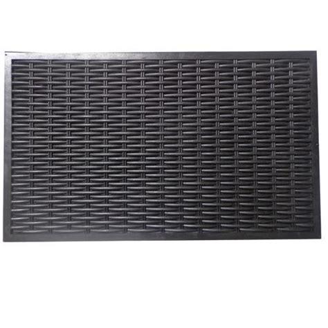 3 designs large heavy duty rubber door mat garden in