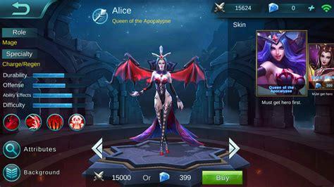 Mobile Legends Alice Build Guide