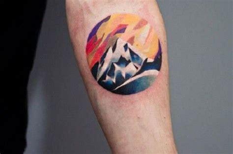 Tatouage Tour De Bras Montagne Tattoo Art