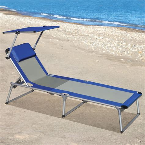 the canopied lounger hammacher schlemmer