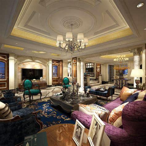 european style living room design   model max